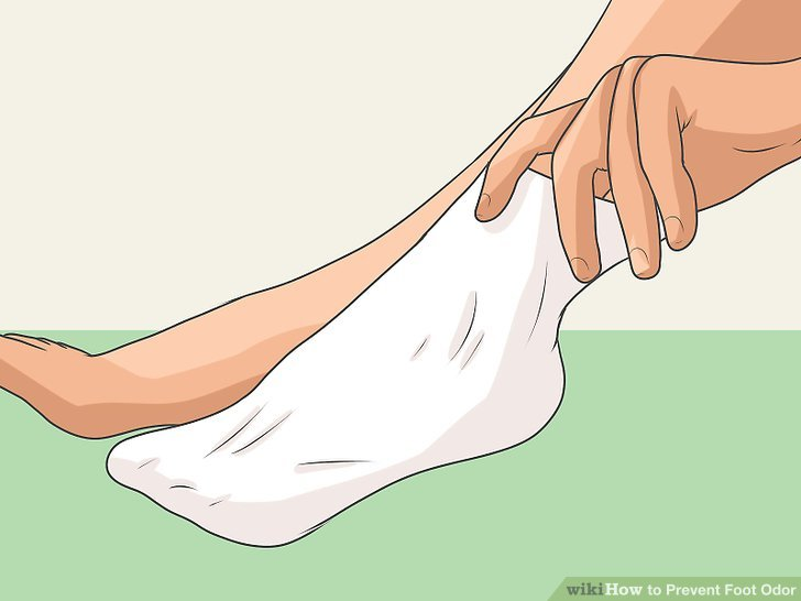 Prevent unpleasant odor and smelly feet